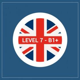 Curso privado de inglés nivel 7 - B1+