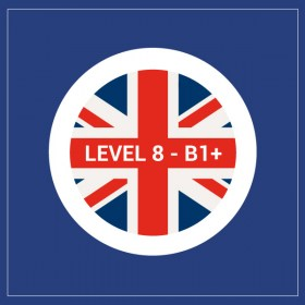 Curso privado de inglés nivel 8 - B1+